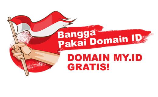 Jangan sampai terlewatkan Promo domain MY.ID 1